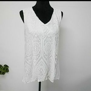New Directions Sleeveless Blouse NWT